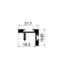 ALİMİNYUM PROFİL MD 1061 D-PARLAK ELOKSAL(1 METRE)
